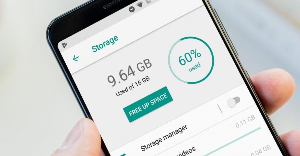 Liberare memoria smartphone android